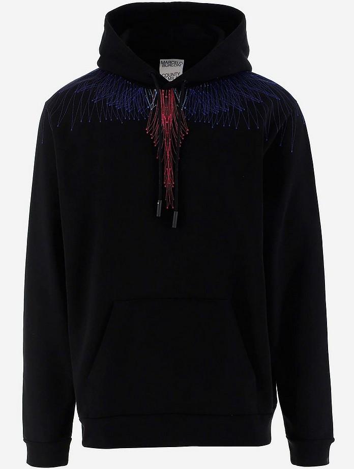 Marcelo Burlon County Of Milan Cottons Men's Sweatshirt