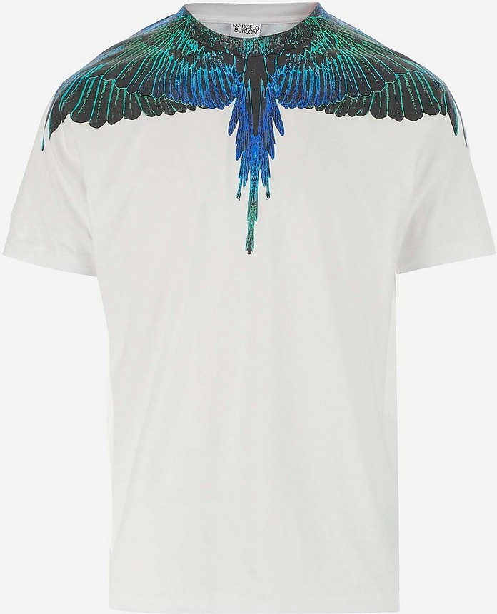 Men's Polo Shirt W/Short Sleeve - Marcelo Burlon