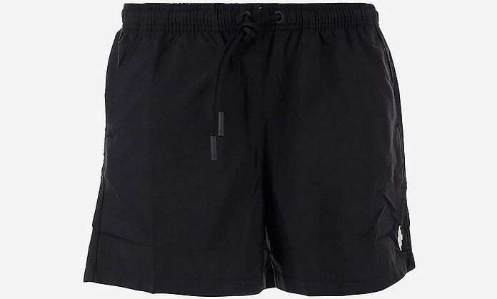 Black Nylon Men's Swim Pants - Marcelo Burlon