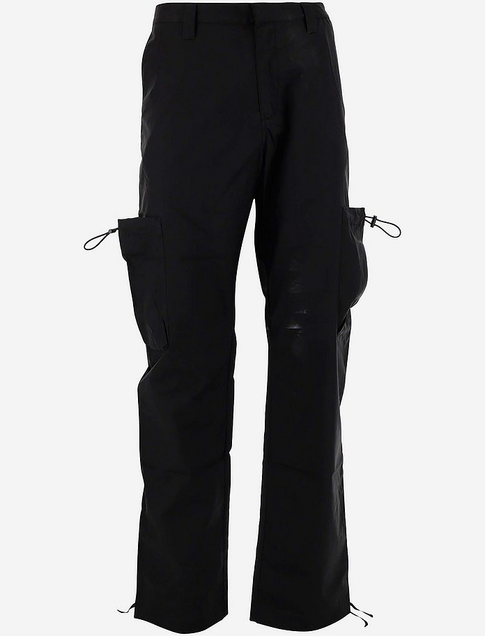 Black Men's Cargo Pants - Marcelo Burlon