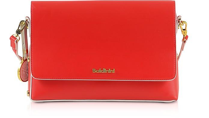 Red Eco-Leather Shoulder Bag - Baldinini