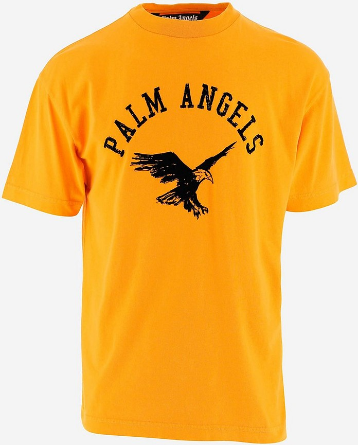 Men's Polo Shirt W/Short Sleeve - Palm Angels