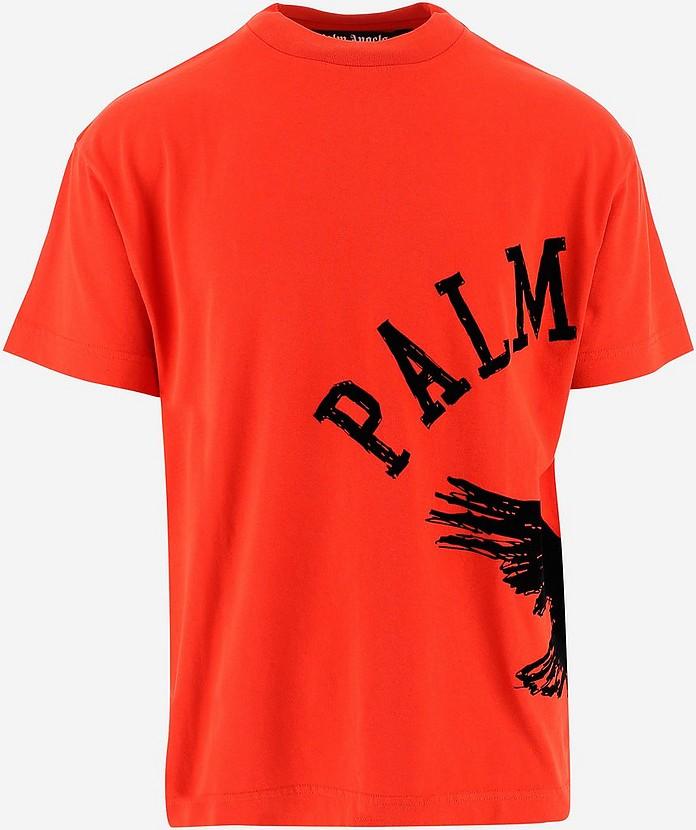 Men's Polo Shirt W/Short Sleeve - Palm Angels