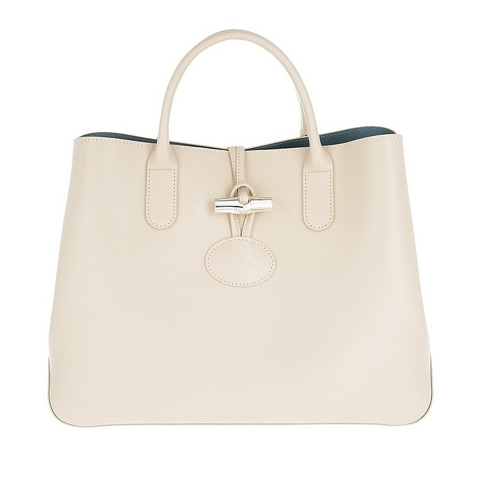 Roseau Shopper S Ivory - Longchamp