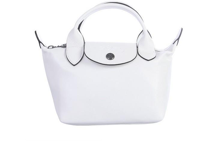 Mini Le Pliage Cuir Bag - Longchamp