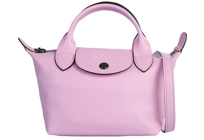 Mini Le Pliage Cuir Bag - Longchamp