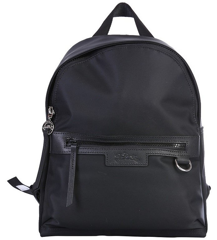 Le Pliage Black Nylon Small Backpack - Longchamp