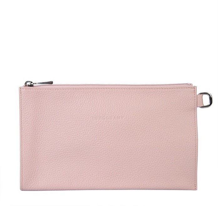 Le Foulonne Leather Pouch - Longchamp