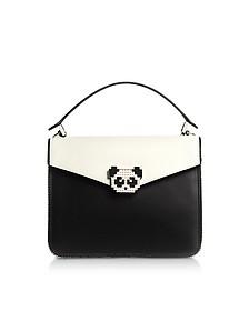 Pixie Metal Panda Leather Satchel Bag - Les Petits Joueurs