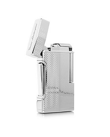 Mito Engine Turn Stainless Steel Lighter