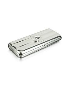 Silver Collection - Logo Triple Cigar Holder