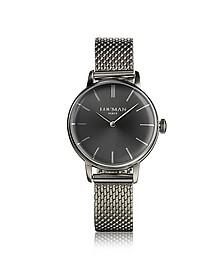 1960 Silver Stainless Steel Women's Watch - Locman