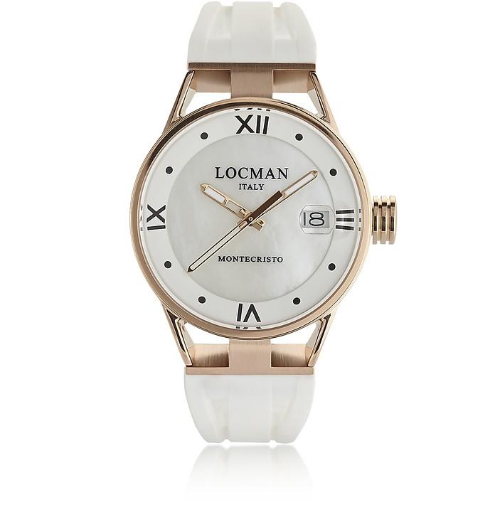 Montecristo Rose Gold PVD Stainless Steel & Titanium Women's Watch - Locman