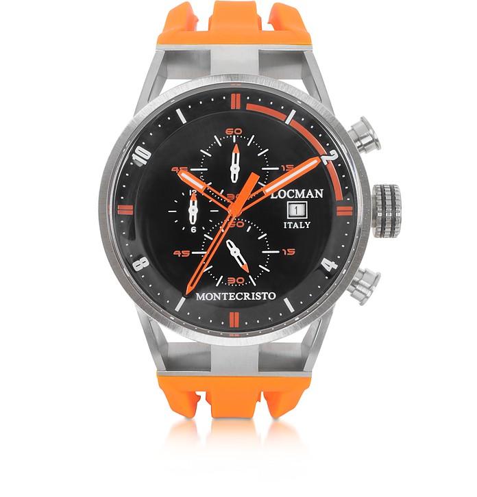 Montecristo Stainless Steel and Titanium Case Men's Watch - Locman