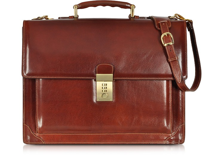Cristoforo Colombo Collection Brieftasche aus Leder - L.A.P.A.