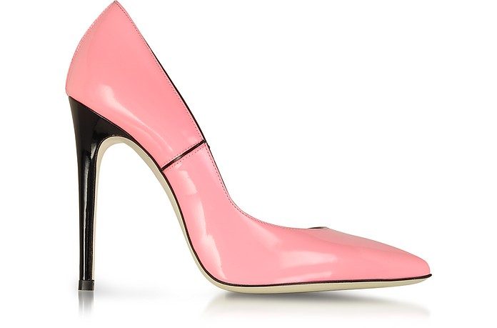 Pink Patent Leather Pump - Loriblu