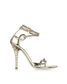 Ayers and Laminated Leather Sandal