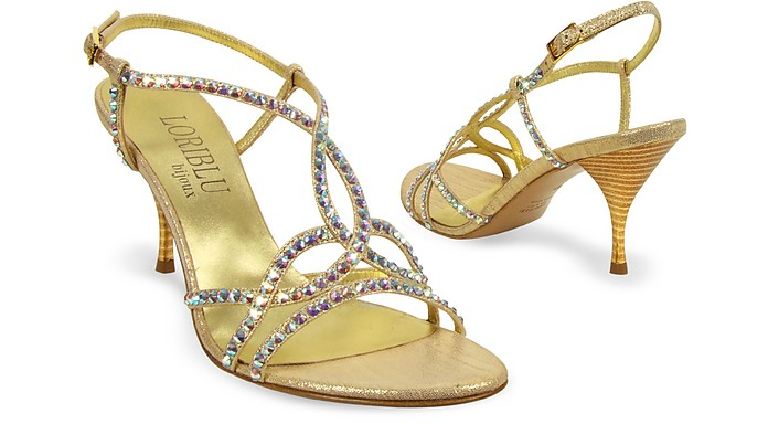 Crystal Evening Sandal - Loriblu