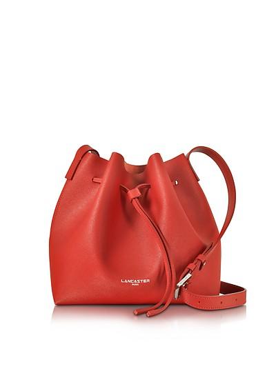 Pur & Element Saffiano Leather Bucket Bag - Lancaster Paris