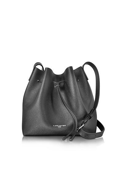 Pur & Element Saffiano Calf-Leather Bucket Bag - Lancaster Paris