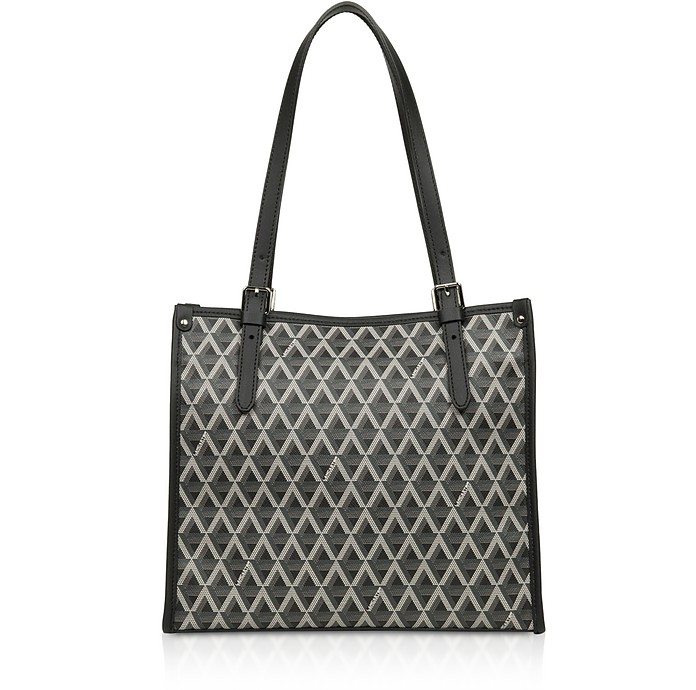 Ikon Coated Canvas Tote Bag - Lancaster Paris