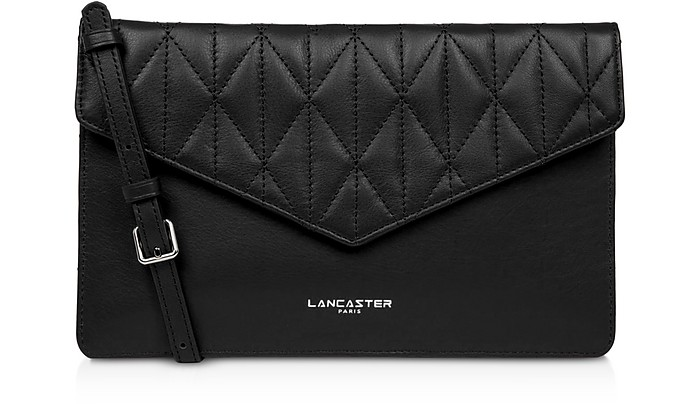 Parisienne Matelassé Leather Clutch - Lancaster Paris