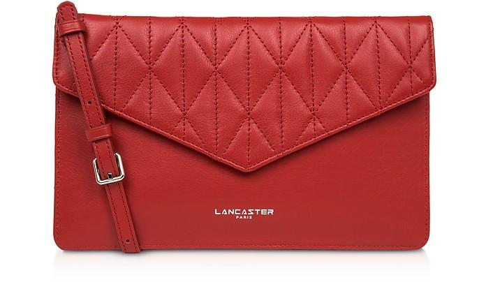 Parisienne Matelassé Leather Clutch - Lancaster Paris