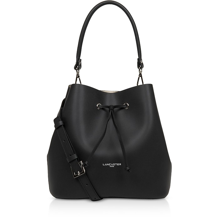 Pur & Elements City Top-Handle Bucket Bag - Lancaster Paris