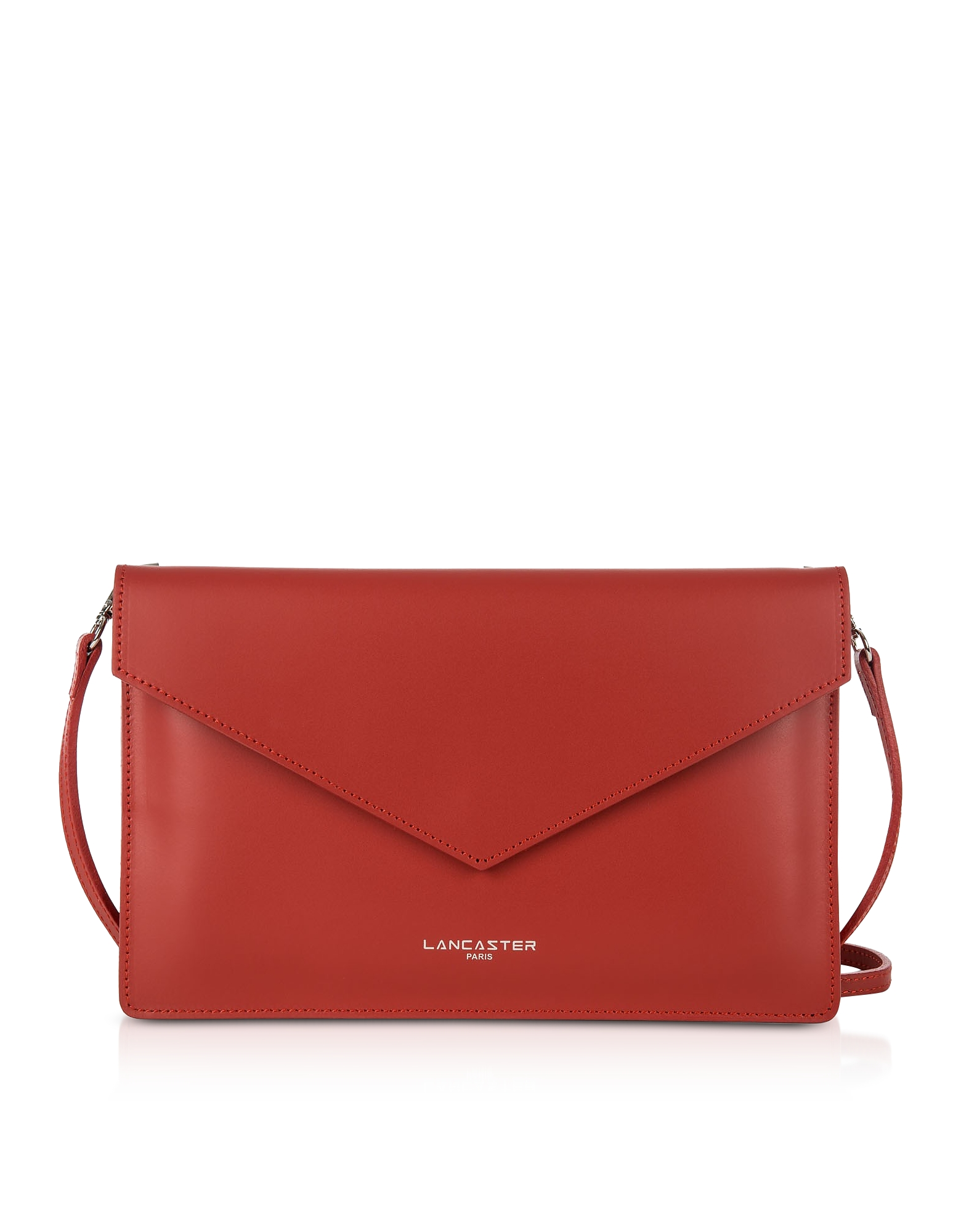 """Lancaster Pur & Elements Smooth Air 8"""" Clutch In Red"""