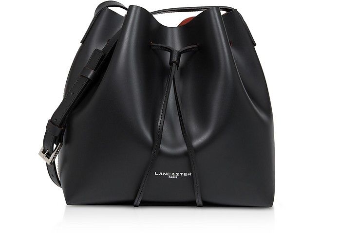 Pur & Elements Smooth Small Bucket Bag - Lancaster Paris