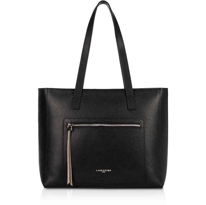 Foulonne Double Leather Tote Bag - Lancaster Paris