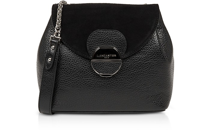 Foulonne Pia Leather Flap Crossbody Bag - Lancaster Paris