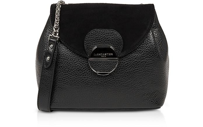 Foulonne Pia Leather Flap Crossbody Bag - Lancaster Paris