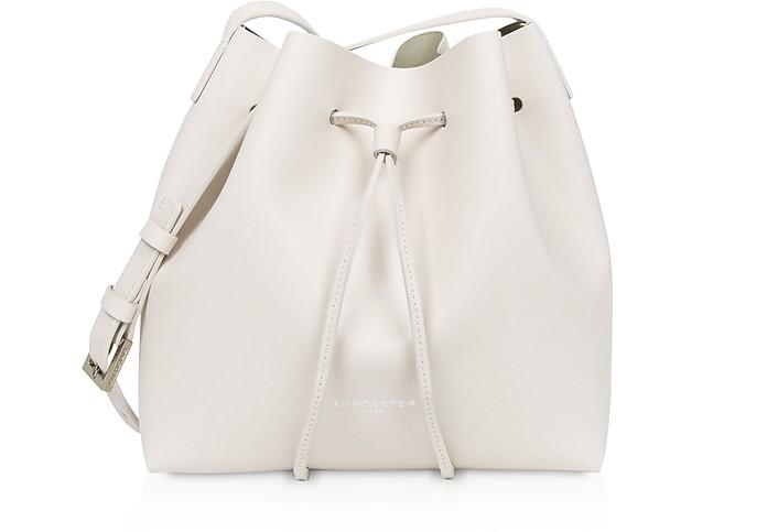 Pur & Element Smooth Small Bucket Bag - Lancaster Paris