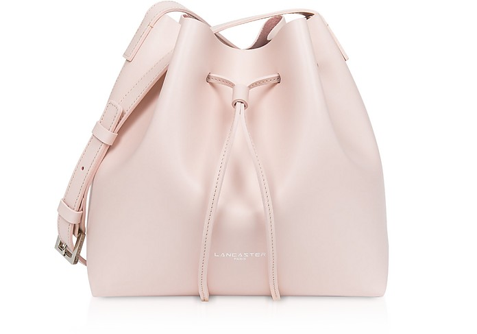 Pur & Element Smooth Small Bucket Bag - Lancaster Paris