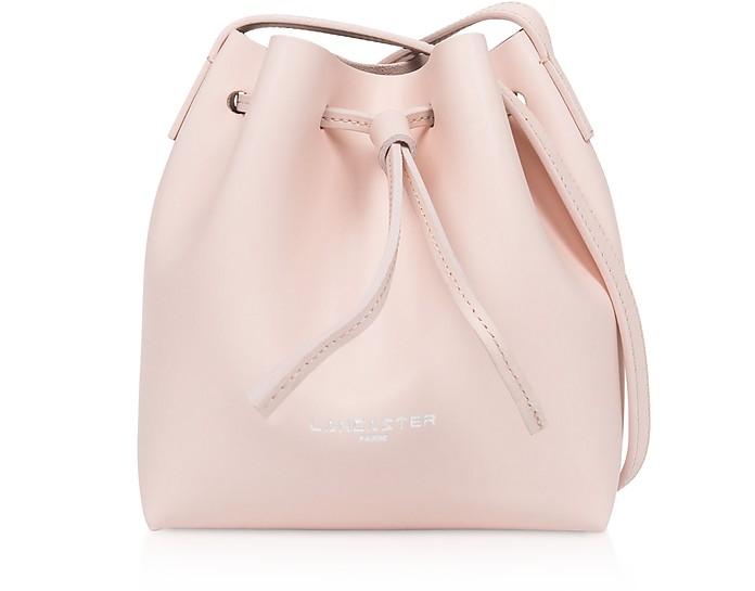 Pur & Element Smooth Mini Bucket Bag - Lancaster Paris