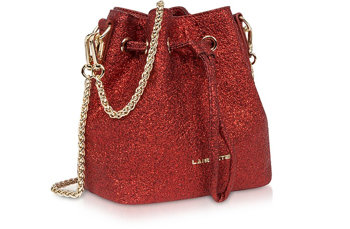 Actual Shiny Mini Bucket Bag - Lancaster Paris.  185.00 Actual transaction  amount