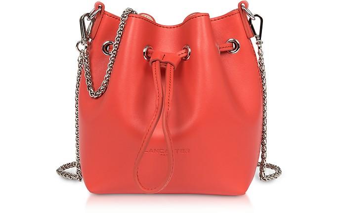 Treasure and Annae Leather Mini Bucket Bag - Lancaster Paris