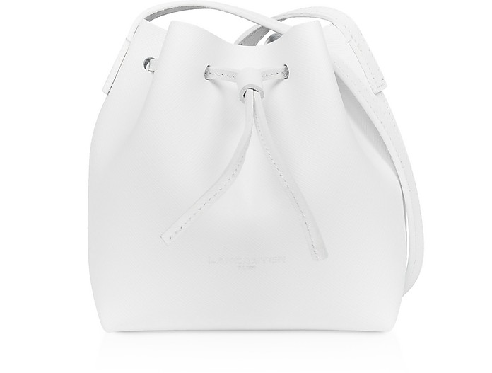 Pur & Element Saffiano Mini Bucket Bag - Lancaster Paris