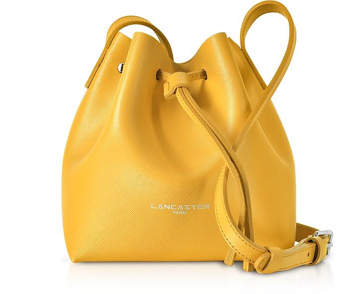 Pur & Element Saffiano Mini Bucket Bag - Lancaster Paris