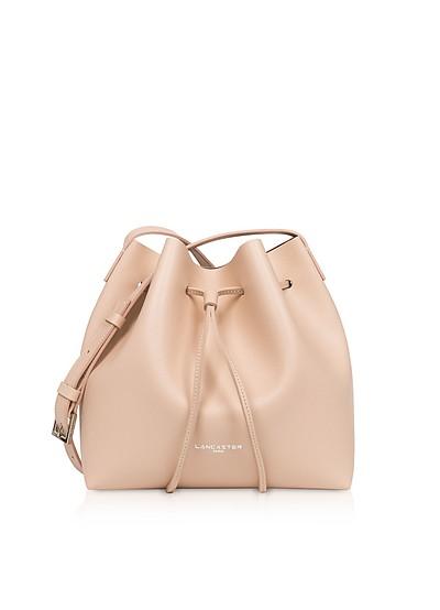 Pur Saffiano Small Bucket Bag - Lancaster Paris