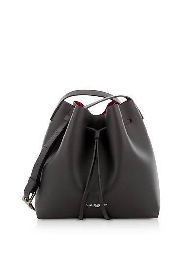 Pur & Element Saffiano Small two Tone Bucket Bag - Lancaster Paris