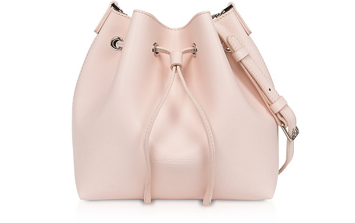Treasure and Annae Leather Small Bucket Bag - Lancaster Paris