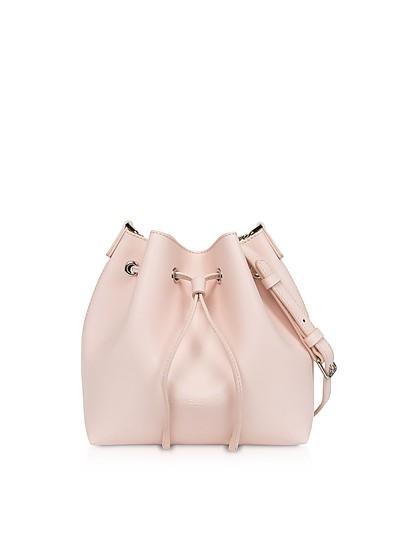 Treasure and Annae Leather Small Bucket Bag - Lancaster Paris