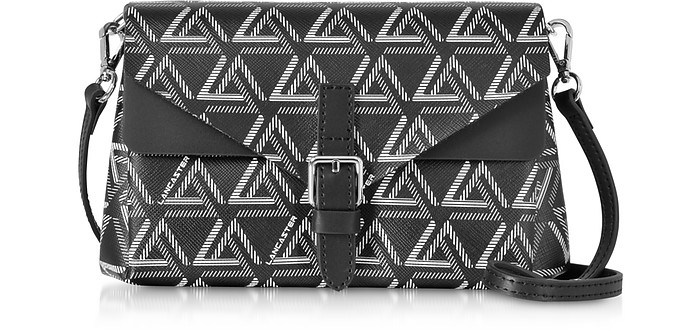 Ikon Mini Clutch w/Shoulder Strap - Lancaster Paris