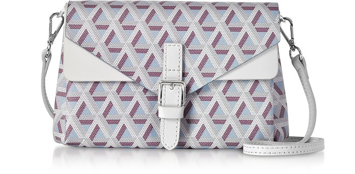 Ikon Mini Clutch w/Shoulder Strap - Lancaster Paris