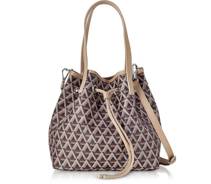 Ikon Small Top Handles Bucket Bag - Lancaster Paris