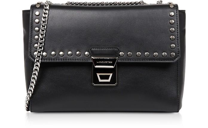 Gena Rock Studs Leather Crossbody Bag - Lancaster Paris / ランカスター パリ