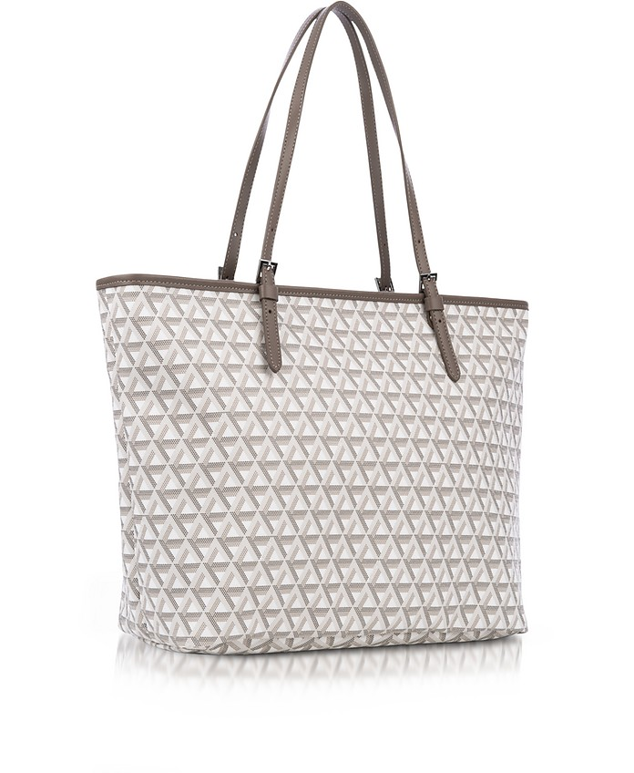 cb90f230653f Ikon Coated Canvas and Leather Large Tote Bag - Lancaster Paris.  230.00  Actual transaction amount