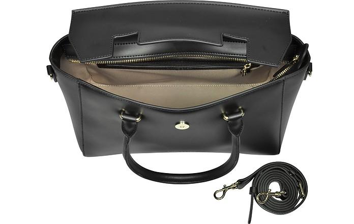 6b228f844431 Camelia Leather Tote Bag w Detachable Shoulder Strap - Lancaster Paris.   315.00 Actual transaction amount